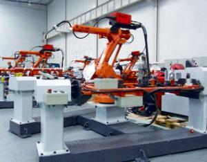 自行车车架机器人焊接系统