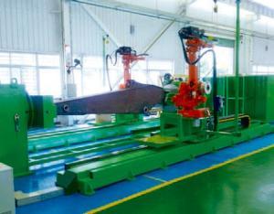 斗杆双机器人焊接系统