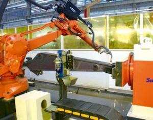 斗杆机器人焊接系统