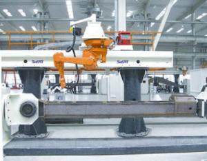 履带梁机器人焊接系统