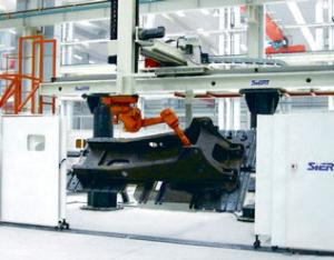 主平台机器人焊接系统