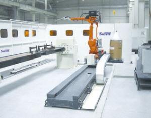 主体纵梁机器人焊接系统