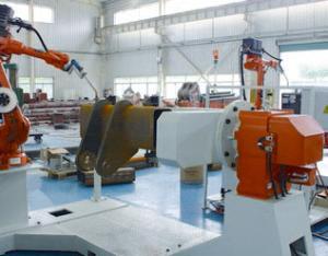 动臂横梁机器人焊接系统