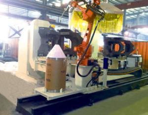 前车架双工位焊接机器人系统