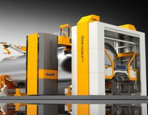 压力容器 筒体相贯线切割焊接工作站