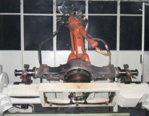 后桥机器人焊接系统