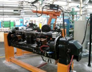 汽车后桥附件机器人焊接系统