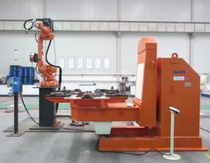 小箱体机器人焊接系统