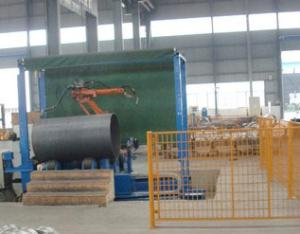 输送滚筒机器人焊接系统