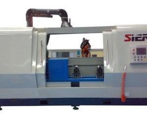 活塞杆机器人焊接工作站