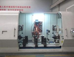 挖机油缸接头与缸筒焊接机器人自动焊接机