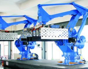 机器人自动码坯系统