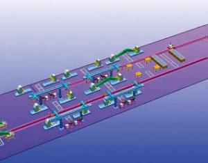 动臂机器人焊接生产线2