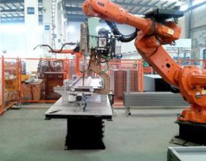 层门板点焊搬运机器人系统