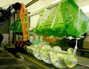 农业机械喷涂机器人系统