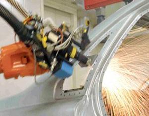 激光切割机器人系统2