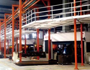 水稻收割机底盘焊接生产线