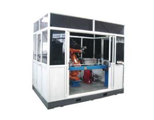 动车扶手机器人焊接系统
