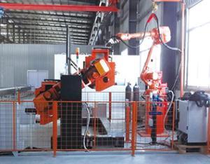 气箱机器人焊接系统