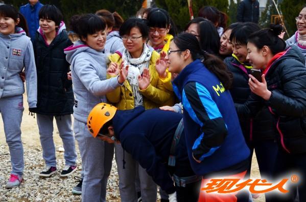 烟台市莱山区实验幼儿园2014庆三八妇女节现代人拓展