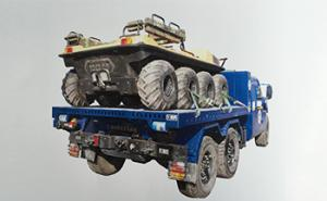 Integrated self Load and Dump General Tray