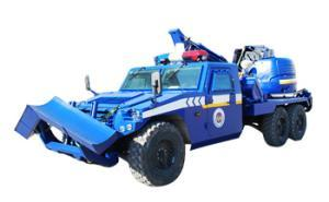 Rescue and Barrier Breaking Vehicle