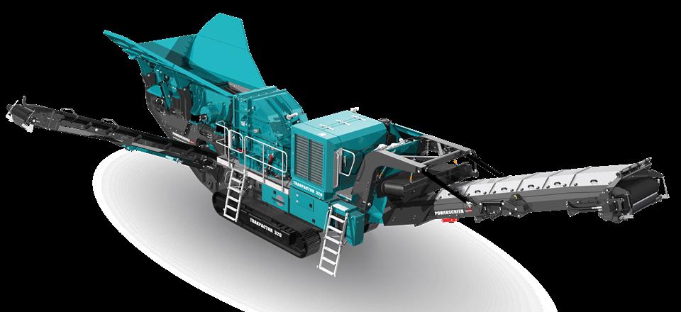 反击式破碎机 Trakpactor 320 & 320SR
