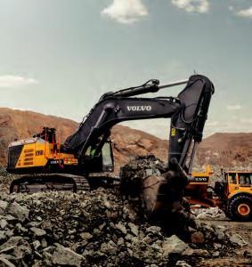 沃尔沃中大型挖掘机型号汇总表