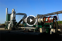 Product introduction of complete asphalt regeneration plant of 15T