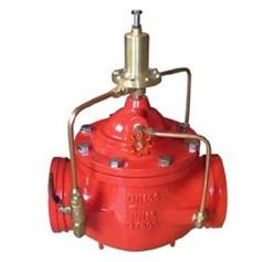 消防沟槽减压阀