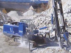 soosan履带式液压钻机 std11e图片