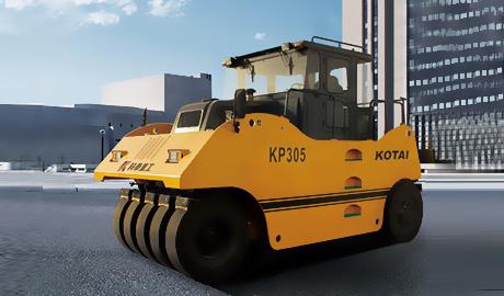 KP305轮胎压路机
