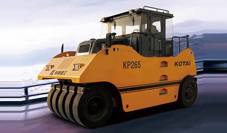 KP265轮胎压路机