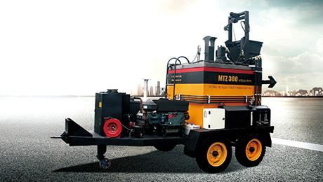 拖式热再生MTZ600