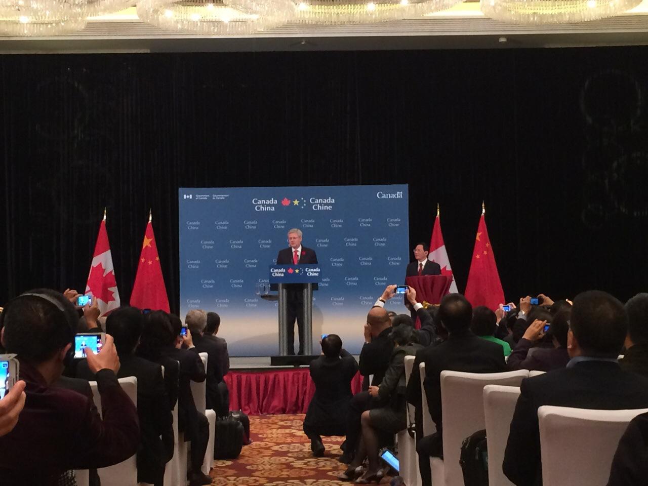 加拿大总理哈帕抵达杭州