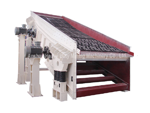 TAB (TKB) Series Amplitude Descending Elliptic Vibrating Screen