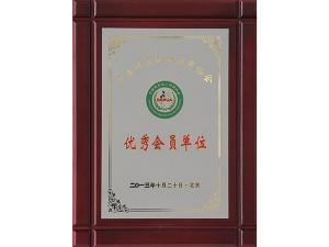 中国煤炭加工利用协会优秀会员单位