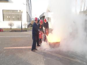 鞍重股份2016年消防与应急疏散演练