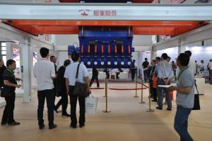鞍重股份亮相第六届沈阳国际现代建筑产业博览会