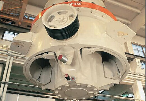 诺德伯格gp系列圆锥破碎机
