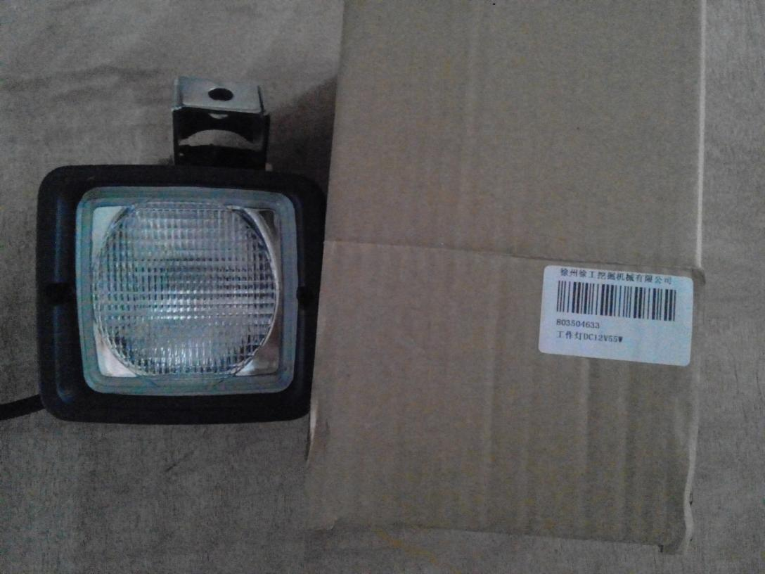 挖機XE240LC工作燈803504633(0.5kg)