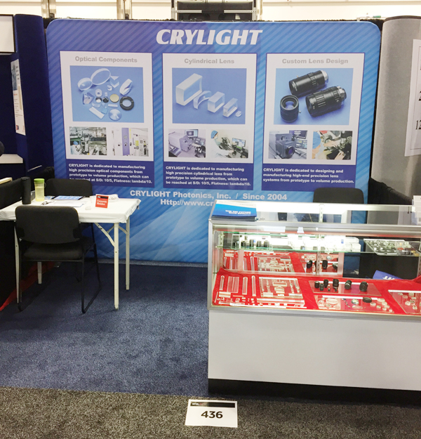 CRYLIGHT succeed in Photonics West 2017