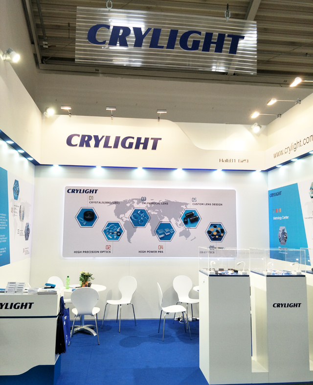 CRYLIGHT succeed in LASER World of PHOTONICS 2017 in Munich