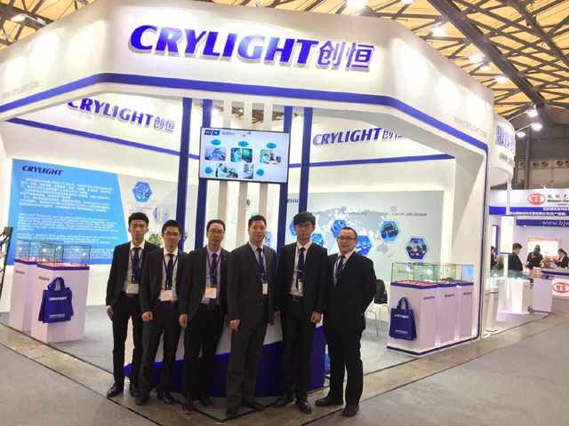 CRYLIGHT succeed in Laser World of Photonics China Shanghai 2018