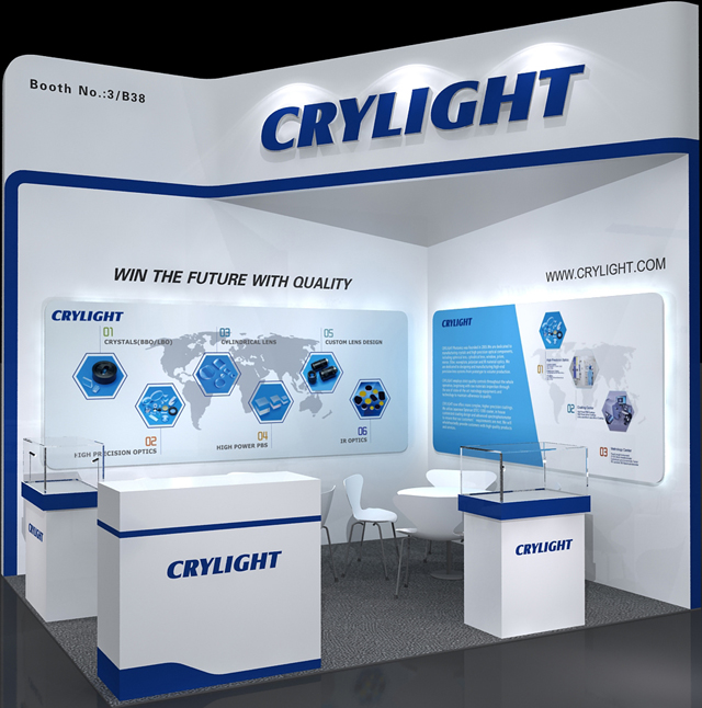 CRYLIGHT succeed in Optatec 2018