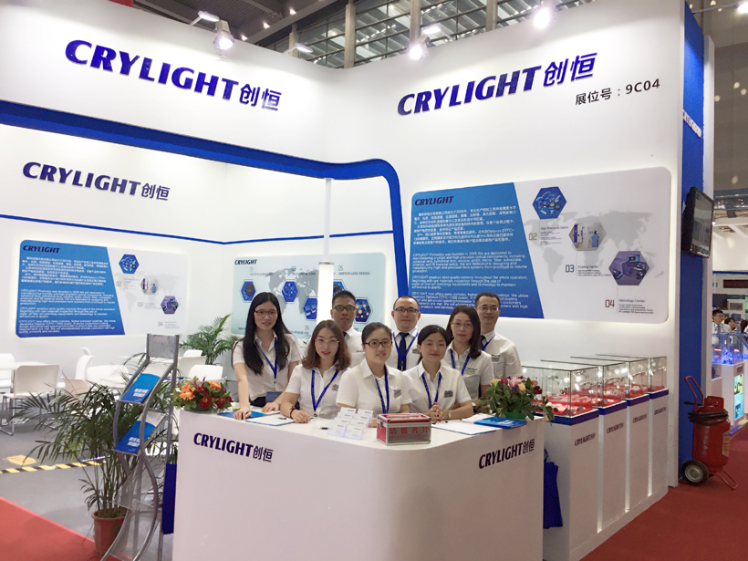 CRYLIGHT succeed in the 20th CIOE 2018