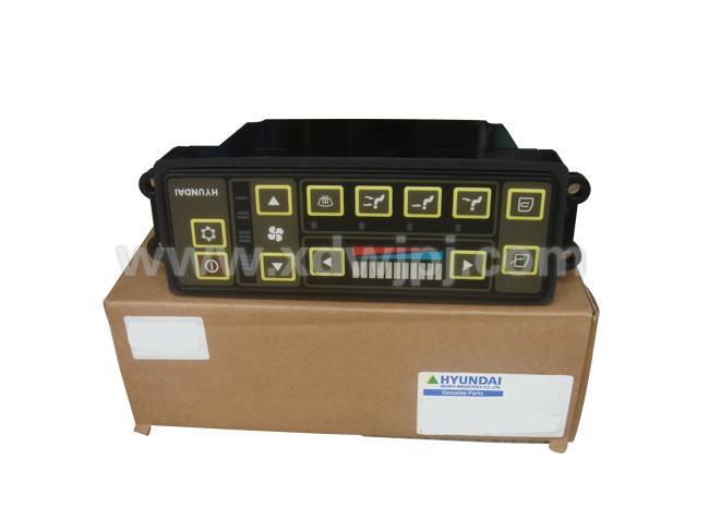 现代挖掘机空调控制面板