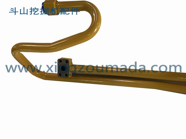 斗山挖掘机小臂油缸硬管