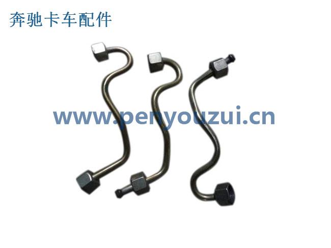 BENZ牽引車發動機柴油泵到噴油器高壓油管