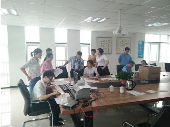安徽省农村信用社 合肥科技农村商业银行站西路支行 为企业员工主动登门服务